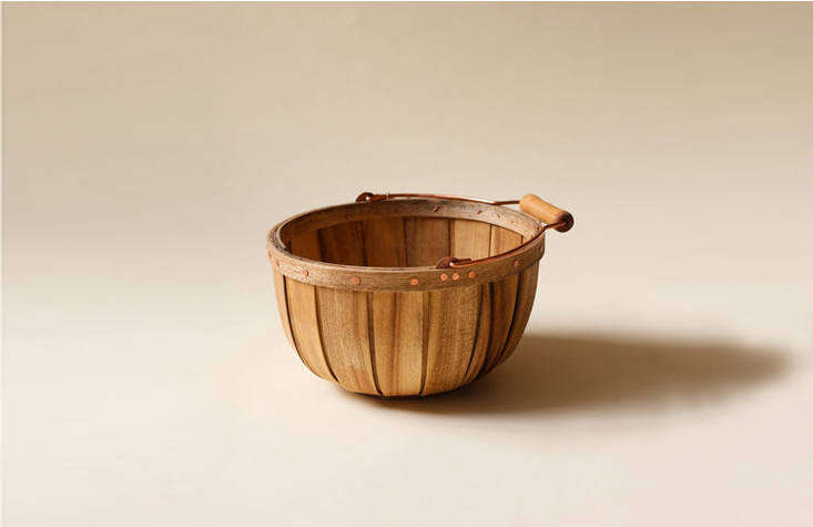 myrtlewood baskets (from \$60) are made by a former boat builder in oregon. 18
