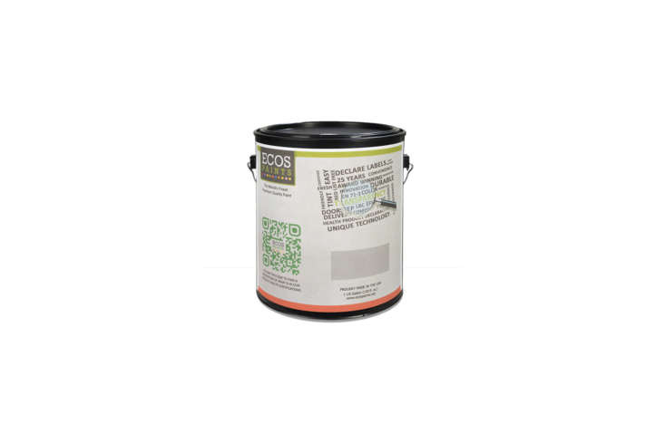 ecos organic paintsare water based and free of allsolvents, vocs, and tox 14