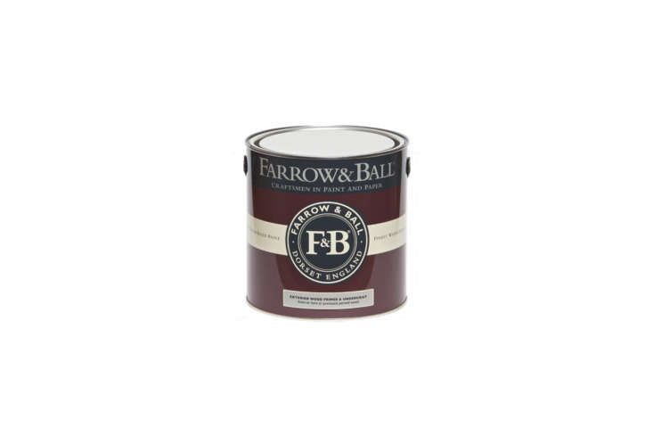 several years ago farrow & ball moved its paint to a water based formula, s 9