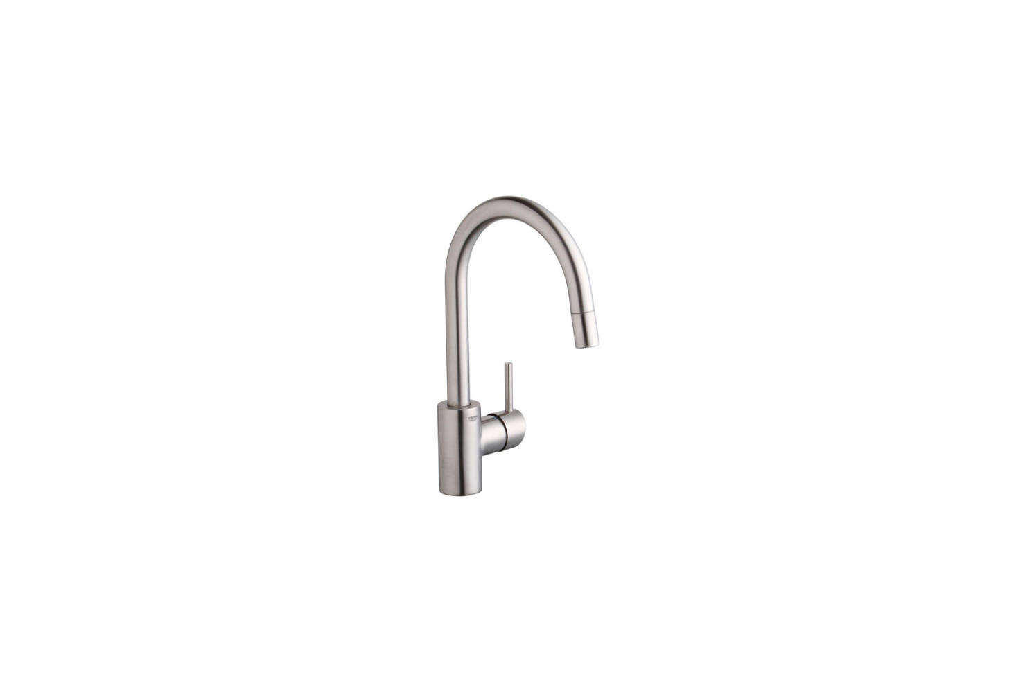 Izabella first wrote about her kitchen faucet decision in High/Low: Dornbracht vs. Grohe Kitchen Faucet. Spoiler alert: They went with the Grohe, the Concetto Single Handle Pull-Out Spray Faucet for $39src=