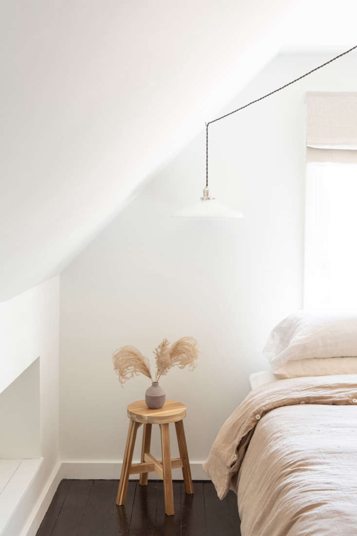 And, in the Catskills farmhouse, Przystup and Linaberry transformed a cluttered attic into a summer bedroom. The main change? Painting the tired wood floors inTricorn Black. For more of the project, seeBefore & After: An Airy Summer Bedroom in a Catskills Farmhouse, Transformed with Paint.