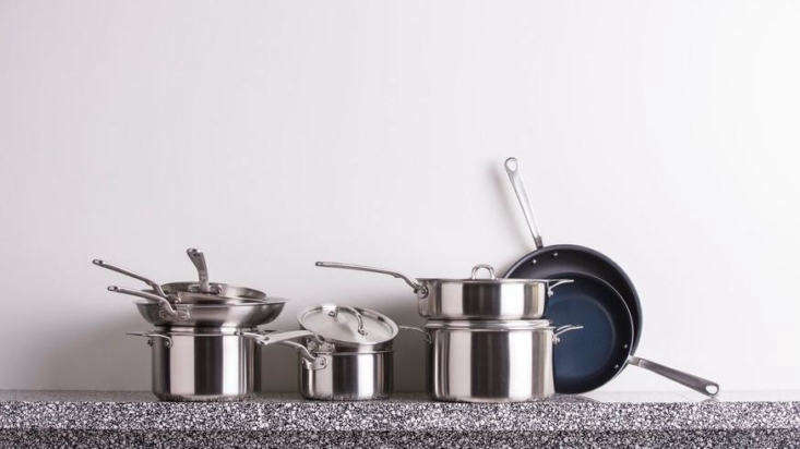 The name of Austin, Texas, companyMade Inis an ode to American manufacturing. The company makes stainless steel pots and pans in independent American factories and with American metals, and they know their top-quality wares won&#8
