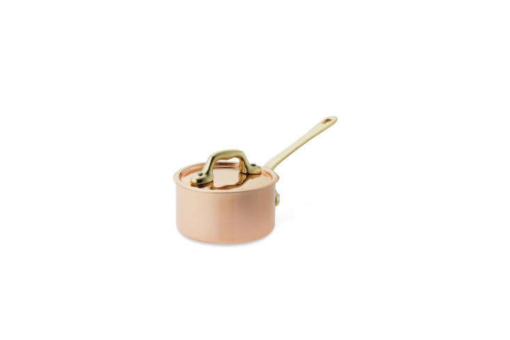 The Mauviel Copper Butter Warmer is $90 at Williams Sonoma.