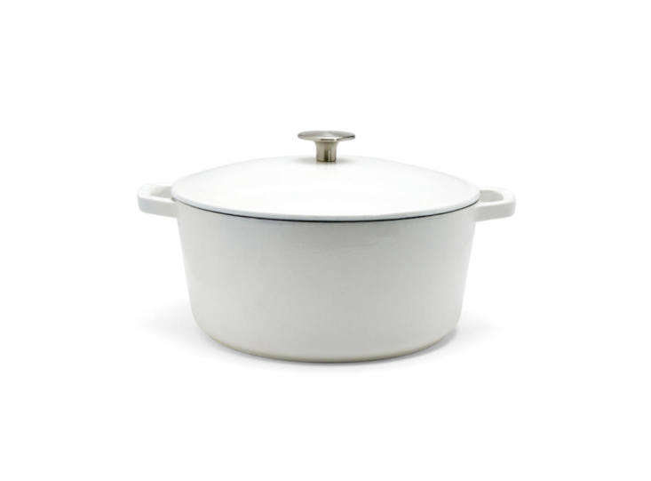 """With its first product, a 5½-quart Dutch Oven, LA-based Milo aims to lower the cost of pricey enameled Dutch oven pots. Says founder ZachSchau, """"The process of casting iron is a centuries-old technology and the materials are affordable,&#8"""