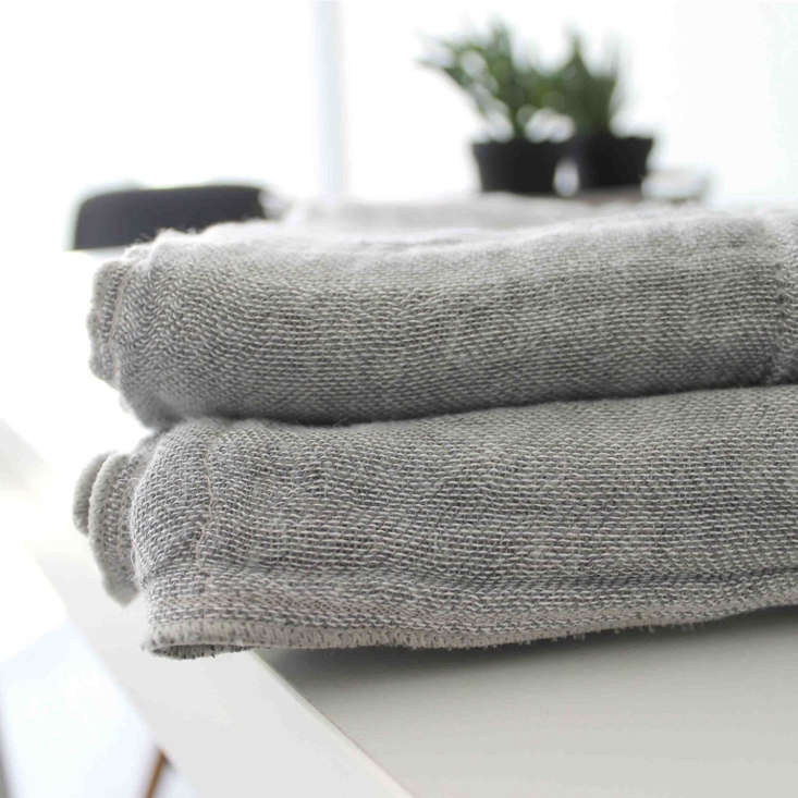 The towels are several layers woven together to increase absorbency. They&#8