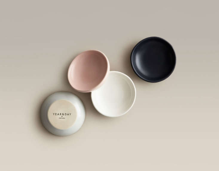 By offering only a few select styles and colors, San Francisco–based Year & Day is able to offer handmade, European tableware at affordable prices. The ceramics come in four colors, as shown in theAll Day & Night Dip Dishes featured here; $. Beyond ceramics, the company offers flatware in three finishes and glasses in a few basic shapes. To start, complete the company&#8