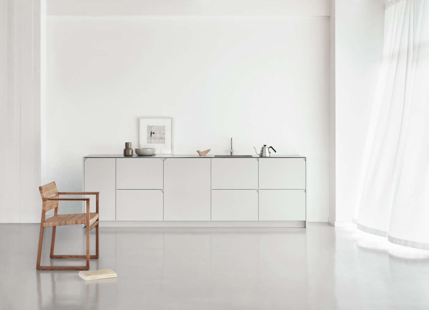 For a uniform look, Reform offers the fronts in MDF that&#8