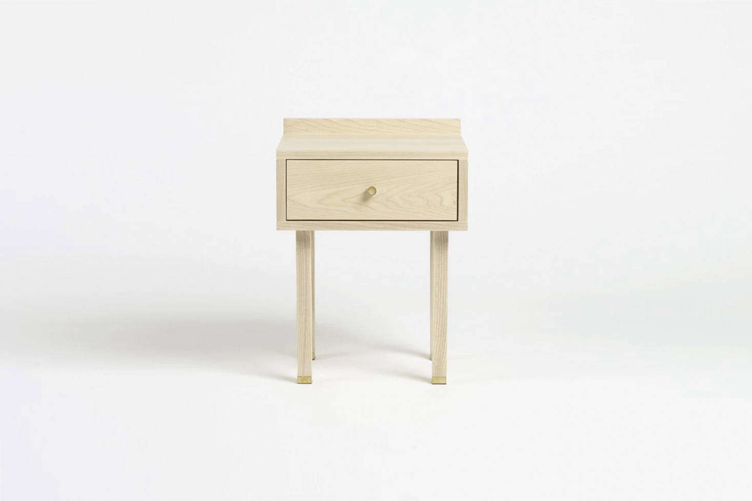 The Another Country Bedside Table Two in ash is £995 at Another Country.