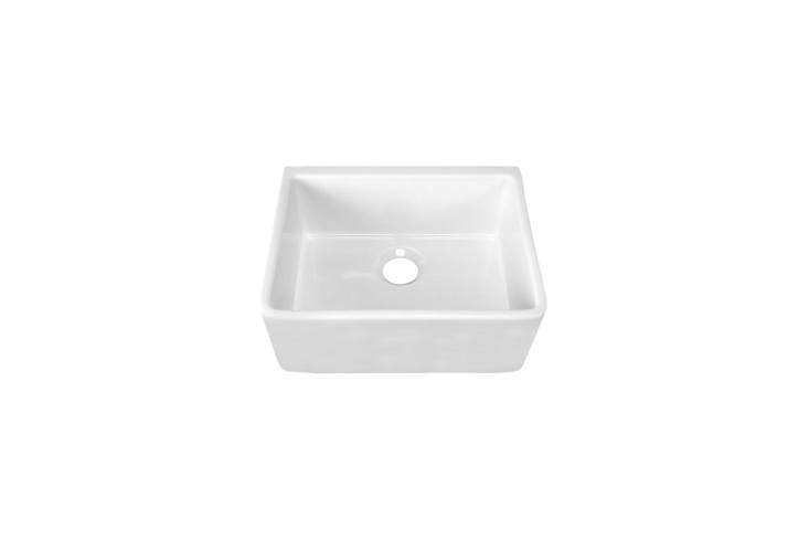 The Barclay  3/8-Inch Single Bowl Farmer Sink is similar to the apron-front sink in the kitchen. It&#8