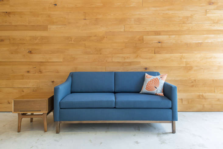 Founded by Pottery Barn alum Edgar Blazona, BenchMade Modern offers custom sofas made-to-order in their Los Angeles factory. The angel investor-backed company offers a range of tech solutions for the customer—from by-the-inch custom sizing, full-scale printouts, and the ability to track furniture as it&#8