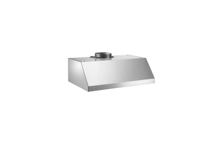 The Bertazzoni -Inch Wall Mount & Undermount Canopy Hood is $944 at US Appliance.