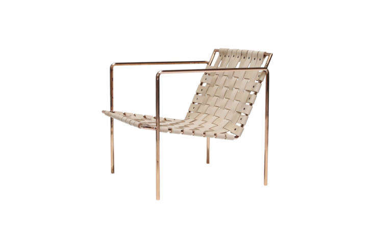 eric trine&#8\2\17;s rod & weave chair has a powder coated frame and wo 14
