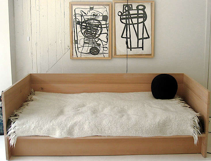 corinne gilbert wood daybed donald judd inspired