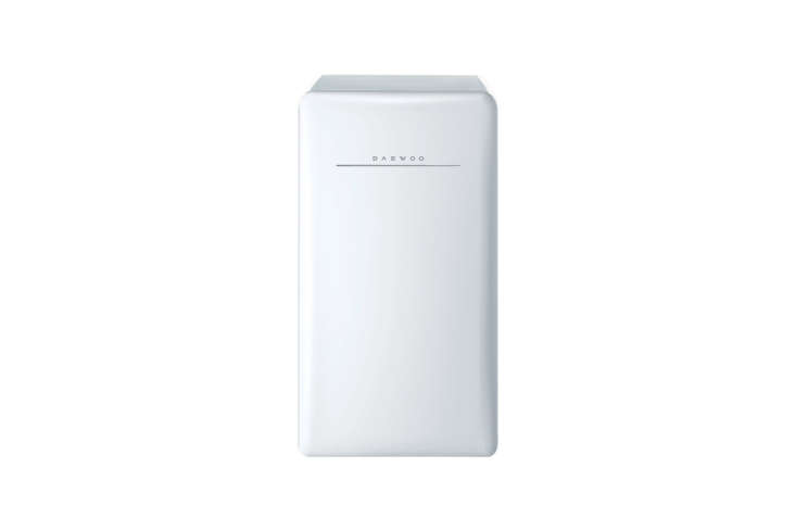 The Daewoo Retro Compact Refrigerator in Cream White is $6.40 at Amazon.