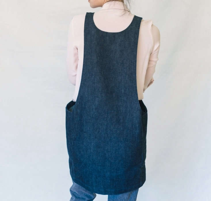 Currently available for preorder and shipping later this month, theDenim Smock Dress is a new GDS design with huge interior pockets, &#8