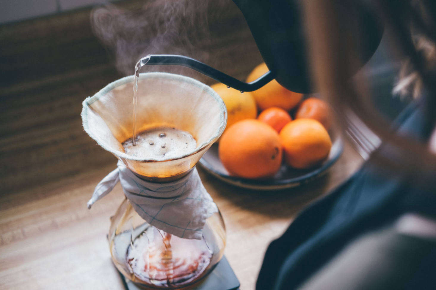 Ebb filters should be rinsed with water after each use, and never washed with soap. For the most consistent brew, GDS recommends storing the filter in water inside the refrigerator.