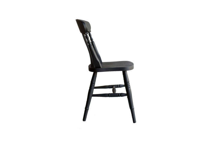 10 Easy Pieces The Windsor Chair Revisited Christopher Howe takes the classic beechwood Windsor and gives it a high gloss finish in custom paint colors. HisPainted Windsor Chairs are available at Howe in London.