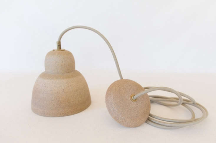 julie cloutier ceramic lamp