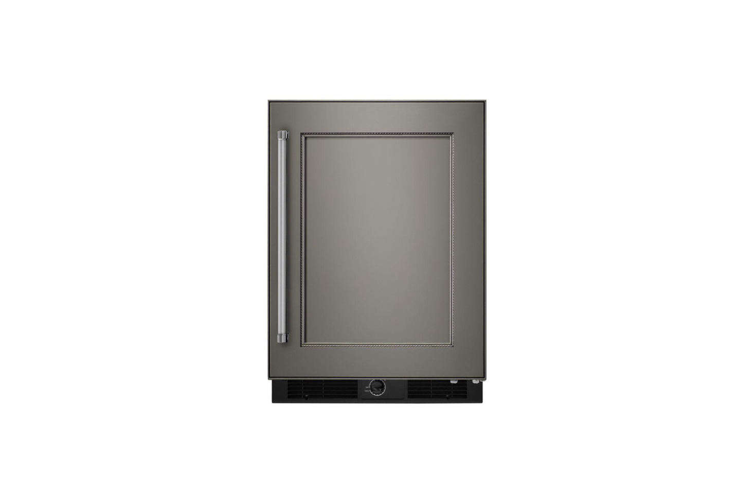The KitchenAid -Inch Undercounter Refrigerator comes in stainless steel or a panel ready design (shown); $src=