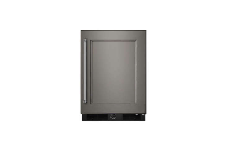The KitchenAid -Inch Undercounter Refrigerator comes in stainless steel or a panel ready design (shown); $loading=