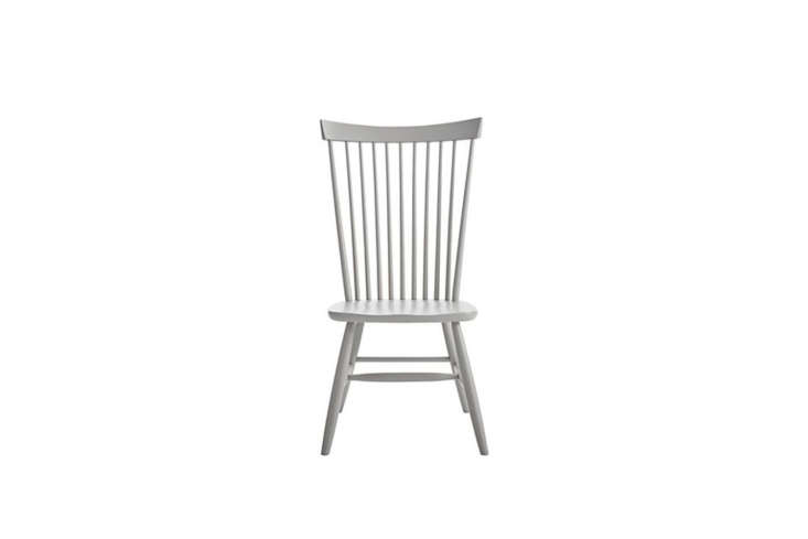 10 Easy Pieces The Windsor Chair Revisited The Crate & BarrelMarlow II Wood Dining Chair is available in Dove (shown),Black, and White for \$3\29 at Crate & Barrel.
