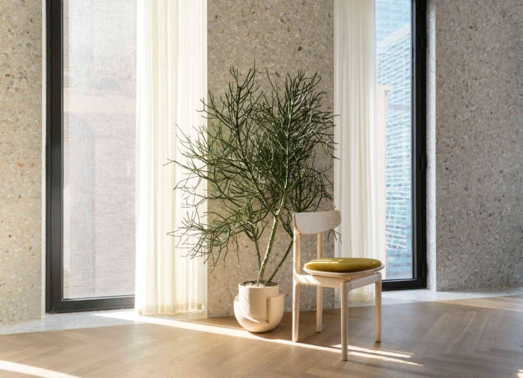 Material Interiors A Shoppable Apartment in New York Design Luminaries Edition Radnor plans to launch more pop ups and shoppable installations in the future; stay tuned.
