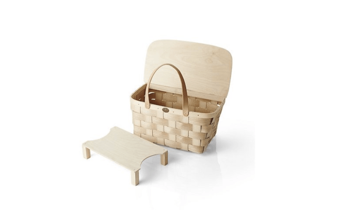 just in time for picnic season:\10 easy pieces: picnic baskets(including th 10