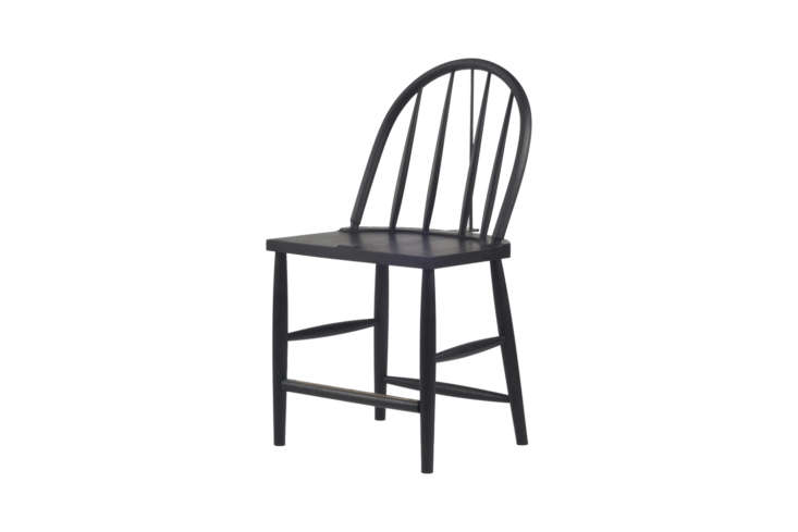 10 Easy Pieces The Windsor Chair Revisited The Rainbow Side Chair from Sawkille is made in American Black Walnut or Hard Maple with the option for different treatments and finishes. Shown here in ebonized American Black Walnut; prices start at \$\2,\200.