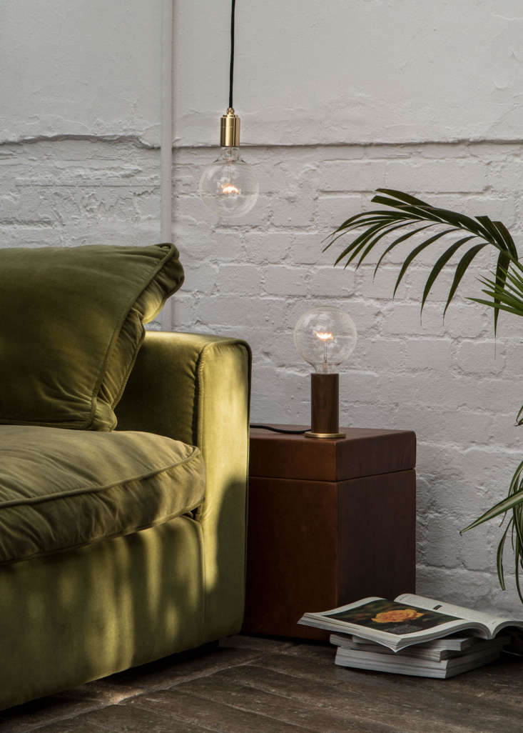 The Unum 3-Watt Bulb (£) has a traditional clear glass spherical body with a minimal filament inside. It&#8