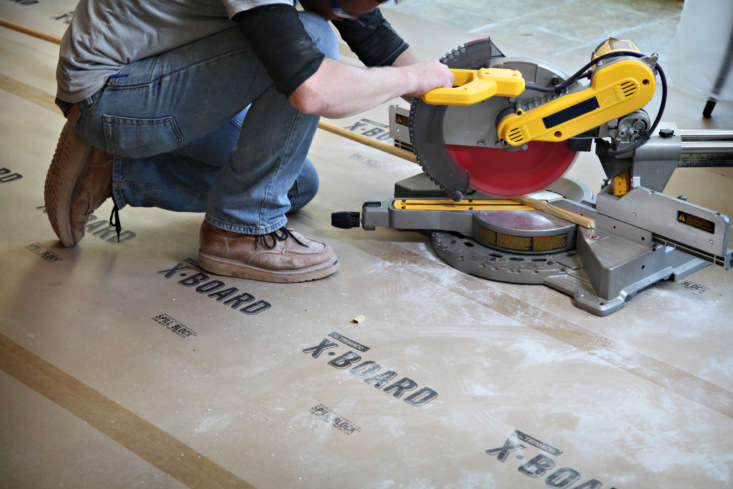 trimaco&#8\2\17;s x board is \2½ times thicker than standard builder&# 13