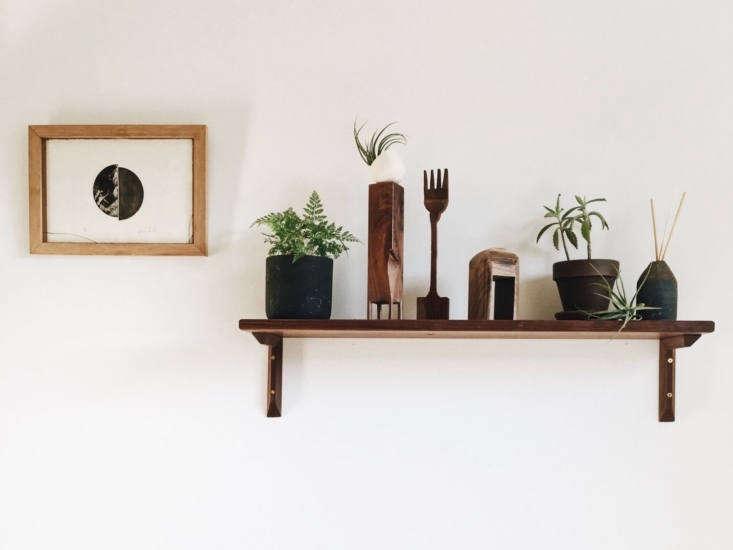 two tree studios wood shelf 4