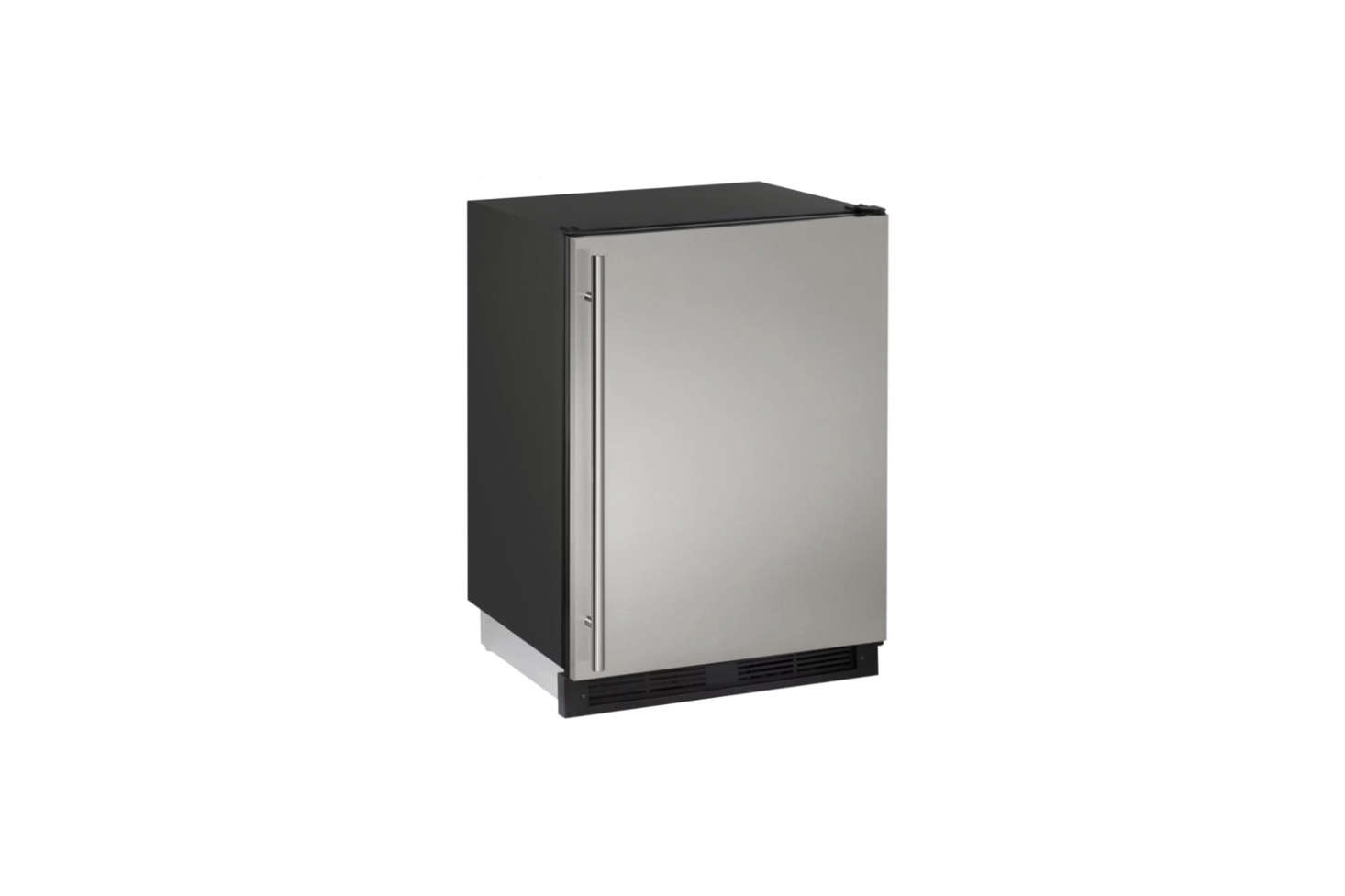 For a basic industrial mini fridge, the U-Line Combo 00 Series Built-In Refrigerator/Freezer Combo is $src=