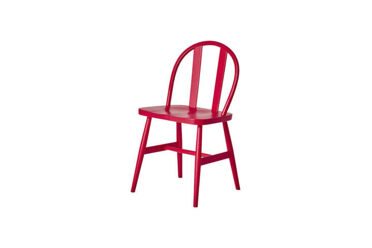 10 Easy Pieces The Windsor Chair Revisited Very Good & Proper&#8\2\17;sBird Chair is designed by Michael Marriot and available in red (shown), natural ash, and black. Contact Very Good & Proper for pricing and ordering information.