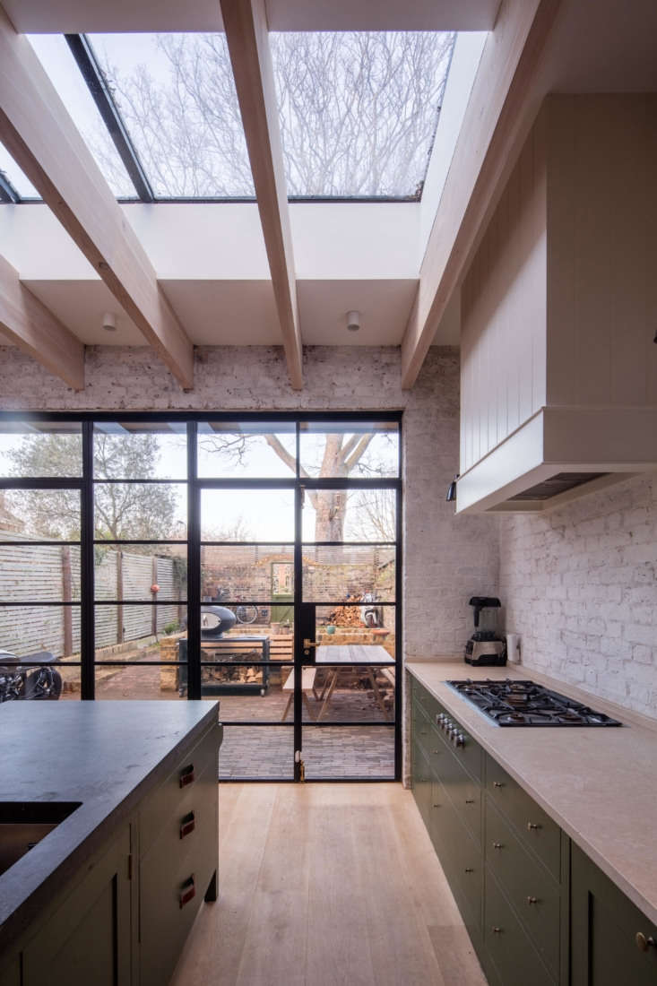 Another kitchen with mix-and-match countertops; seeKitchen of the Week: A Greatest-Hits Kitchen for a Danish-American Couple in London.