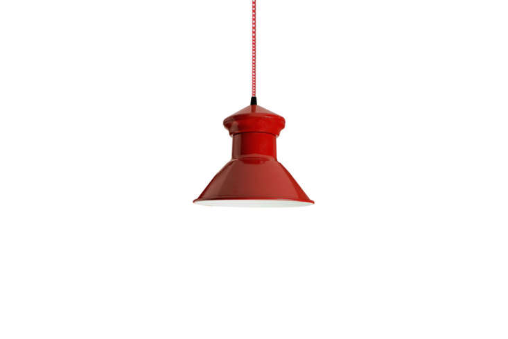 The red barn light is vintage from loading=