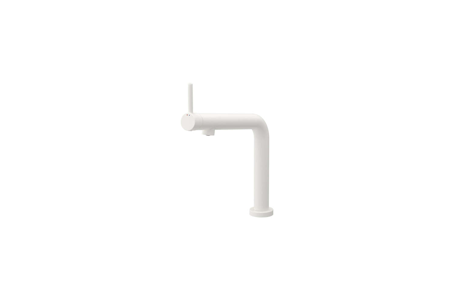 10 Easy Pieces Modern Matte White Faucets Ikea&#8\2\17;s Bosjön Kitchen Faucet is made of white powder coated brass; \$\169 at Ikea. It&#8\2\17;s designed for the kitchen but can be used in the bath too.