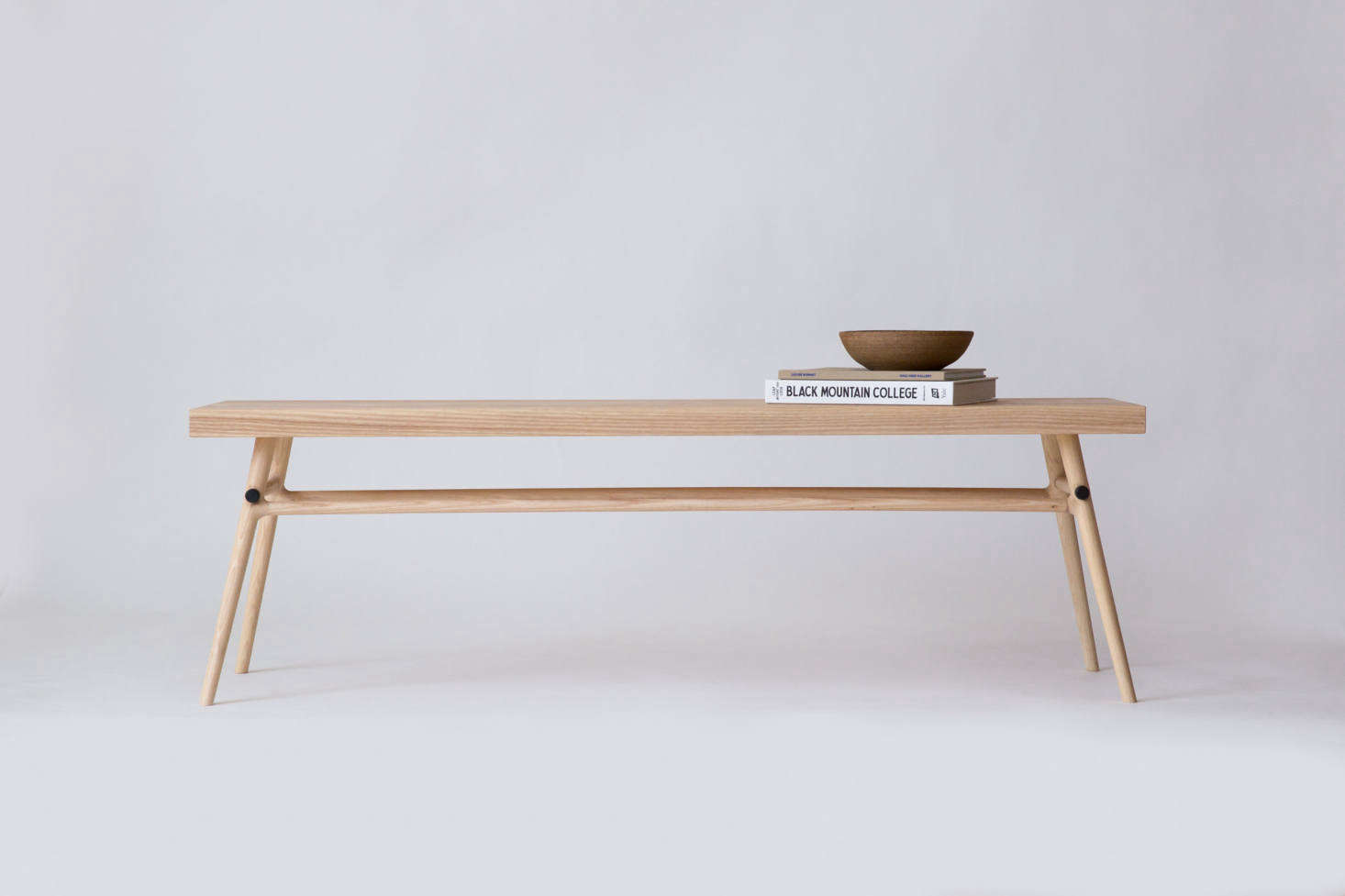 The Bough Bench can be customized to measure 60 inches to 7