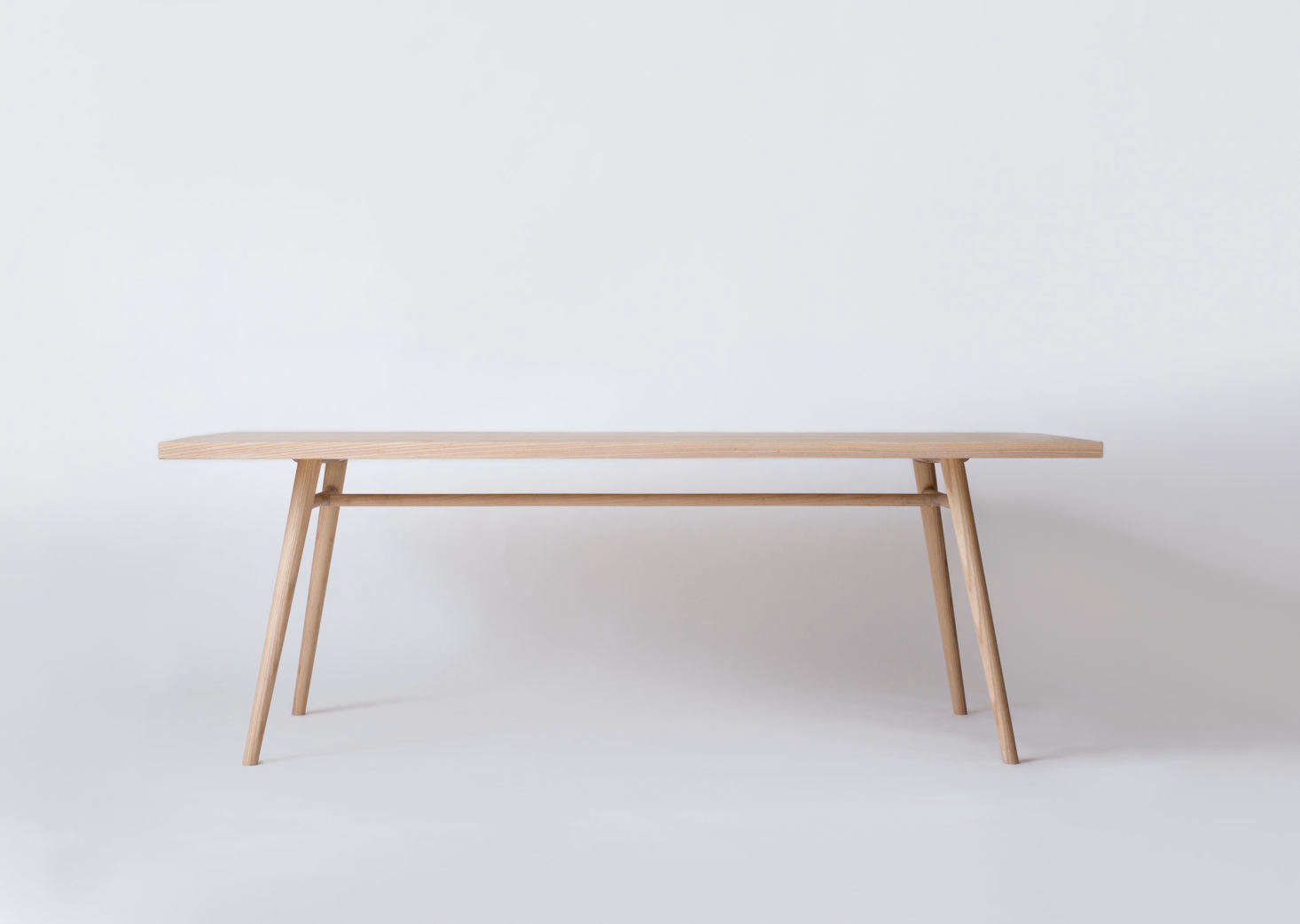 The anchor of the collection, the Bough Table, expresses a simplicity found both in Shaker and Sashimono furniture, two craftsmanship styles that inspire Simmering and Pauewn&#8