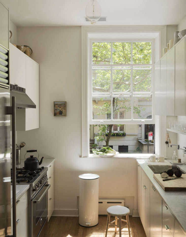 My inspiration for the kitchen was English couturier Anna Valentine's London apartment, which we featured on Remodelista a couple of years ago (see Kitchen of the Week: A Culinary Space Inspired by a Painting).