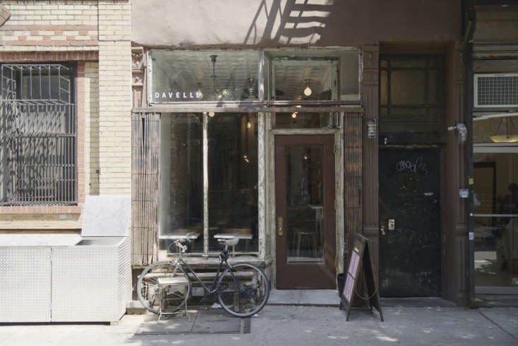 Outside, Kanayama and team embraced the Lower East Side grittiness, with a fairly nondescript little shopfront and a simple sign.