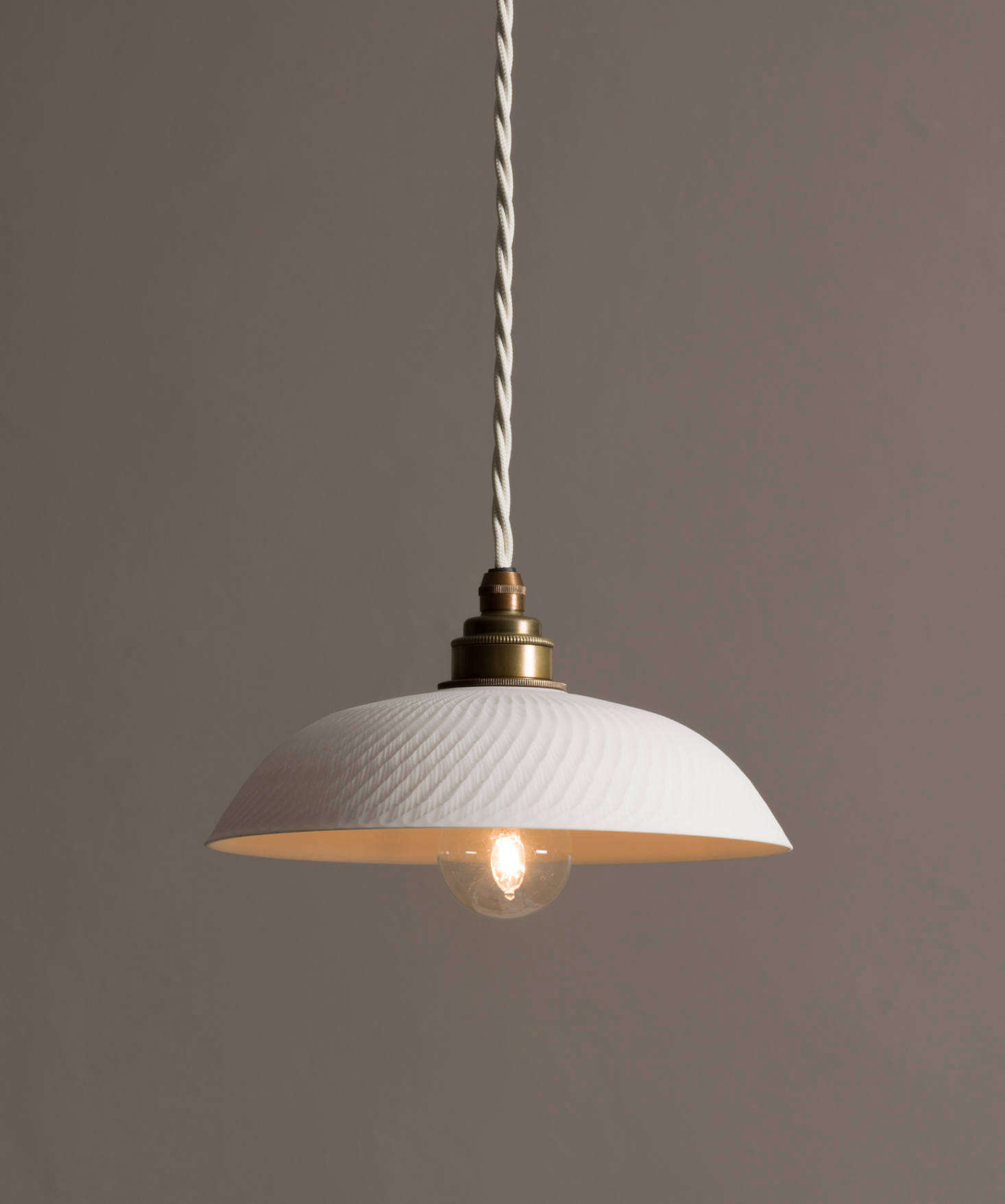 New From Devol A Nyc Showroom And Porcelain Pendant Lights Handmade In England Remodelista