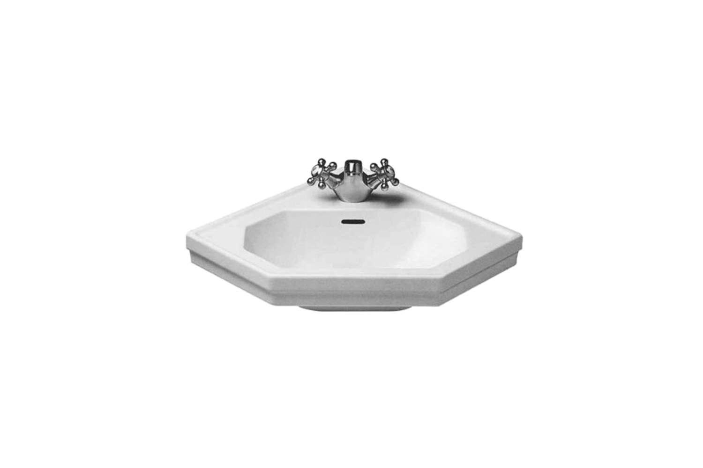 the vintage inspiredduravit \1930 handrinse basin corner is \$334 at supply. 18