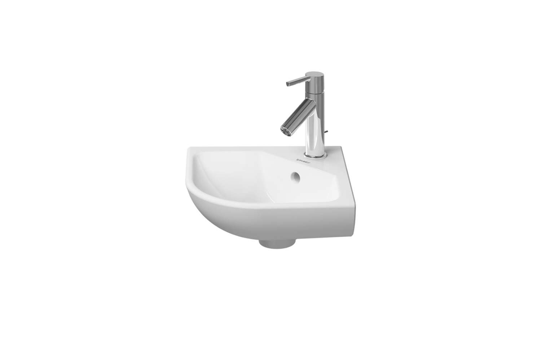 the duravit me starck handrinse basin corner sink designed by philippe starck i 9