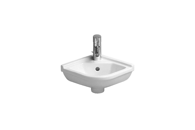 the duravit starck 3 corner handrinse basin, designed by philippe starck is mad 13