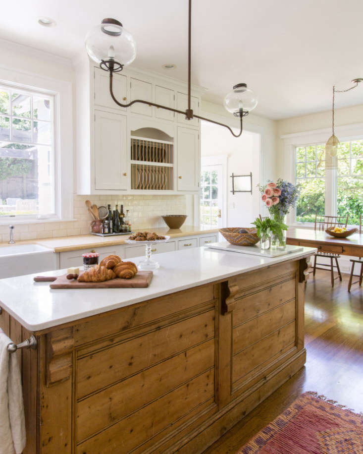 eclectic farmhouse kitchen in san anselmo california 2   733x916
