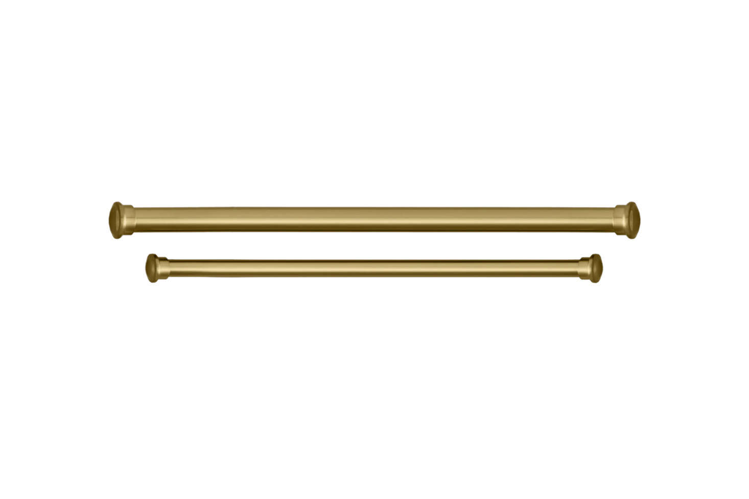 The brass curtain rod is the Estate Extension Brass Rod ($69 to $src=
