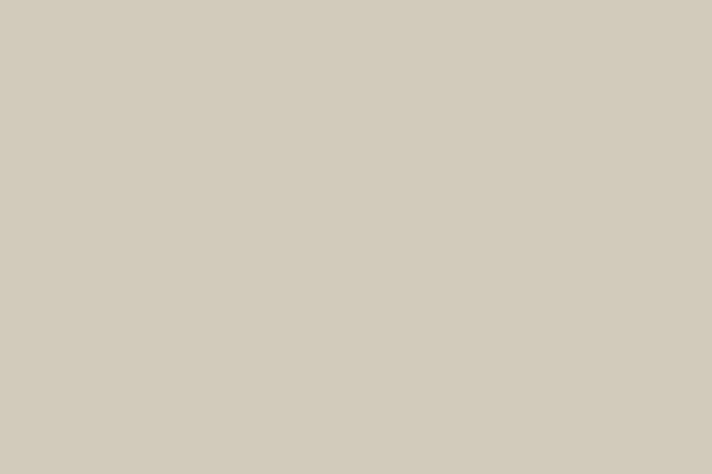 The wood floors are builder-grade white oak painted Elephant&#8