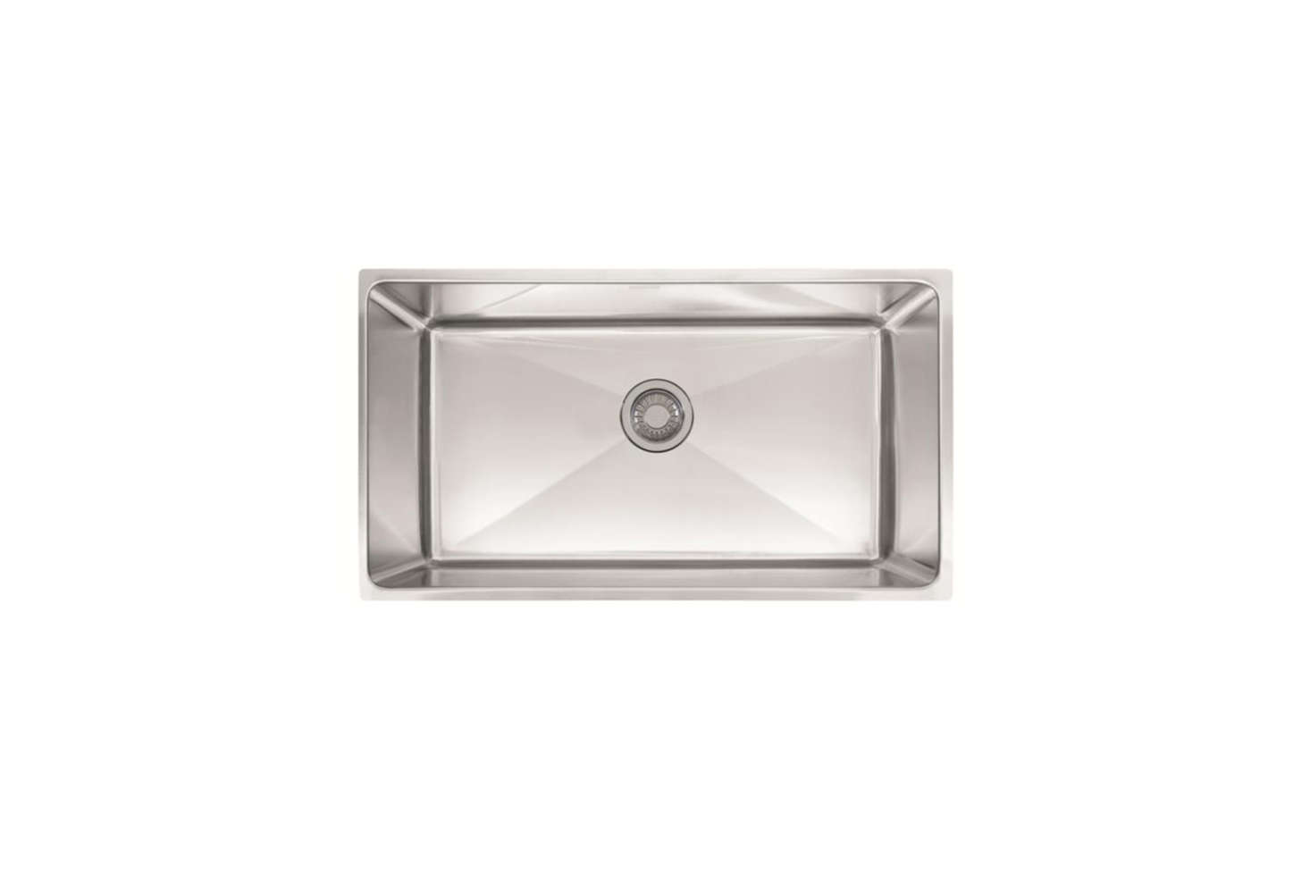 For a deep-set stainless steel sink, the Franke Professional Series 3
