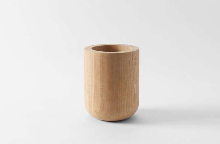 michael verheyden oak vase