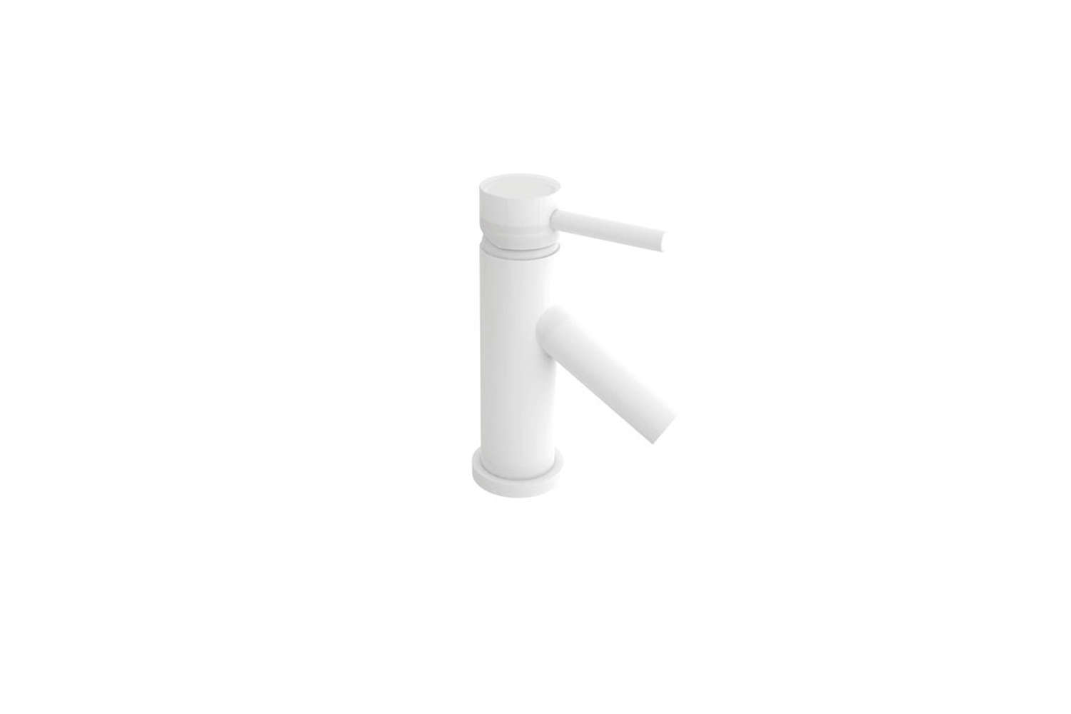 The Newport Brass East Linear Single Hole Bathroom Sink Faucet in white is $749.09 at Ferguson.